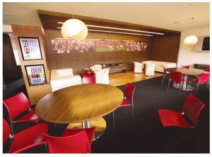 Suites at Red Bull Arena are all-inclusive, making them hassle-free for corporate partners. - (PHOTO BY AARON HOUSTON)