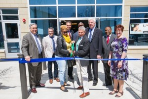 Officials Cut Ribbon To Mark Opening of Linc at Orange Station